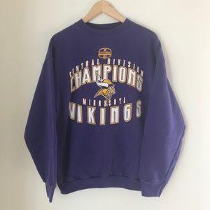 Vintage Minnesota Vikings Crewneck Sweatshirt